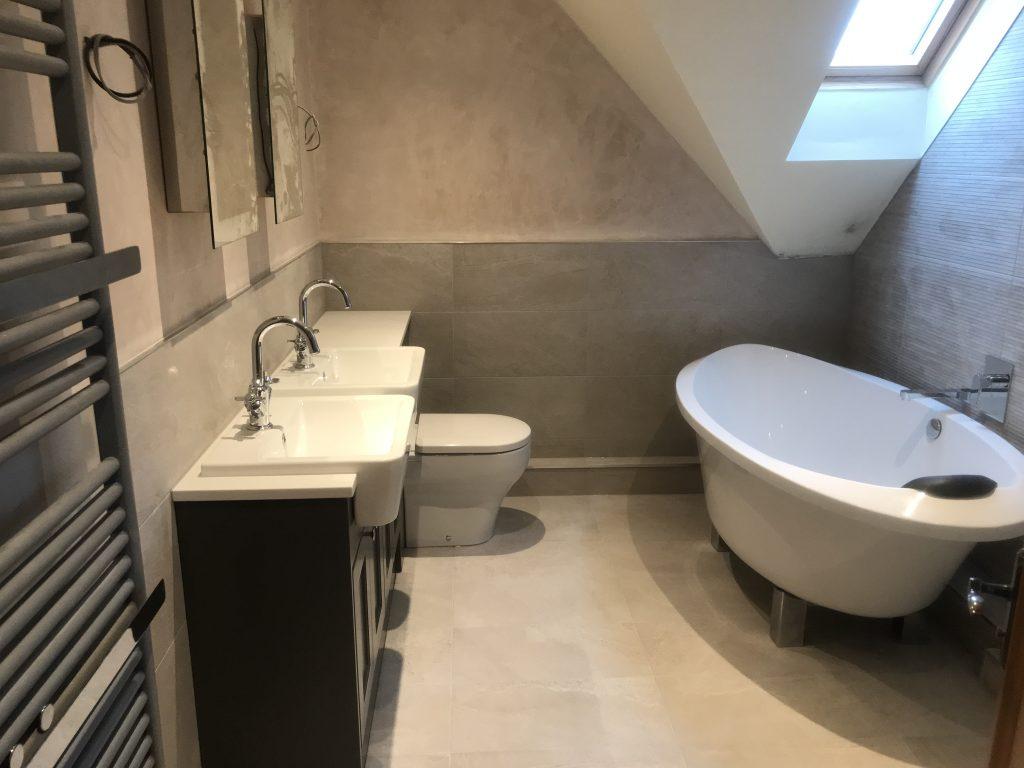 New bathroom installation in Retford