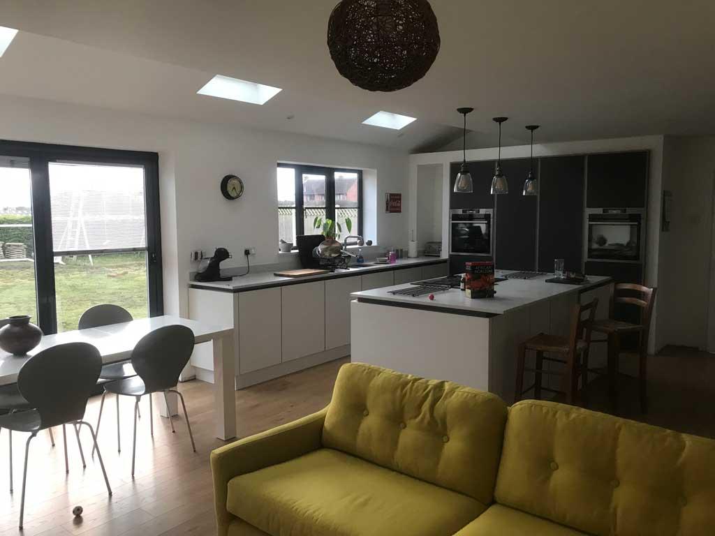 Modern kitchen design in Retford, Nottinghamshire